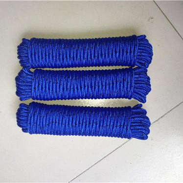 chinese 6mm handle for paper bag colored nylon cable fire escape ladder braided jute rope