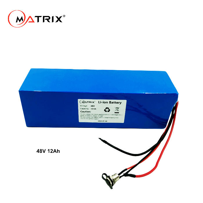 Wholesale Rechargeable Battery Pack Li-Ion 7.4V 12V 24V 36V 48V 72V Li Ion 18650 Battery 48V 12Ah Lithium Battery Pack