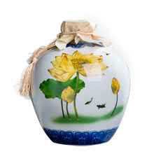 Factory Direct Sales  Jingdezhen Ceramic 2500ml / 5L Chinese characteristics retro bottle ceramic bottle