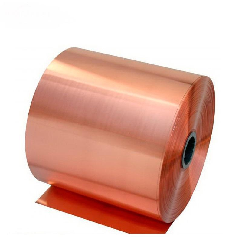 BeCu Alloy C17200 0.03mm beryllium copper foil