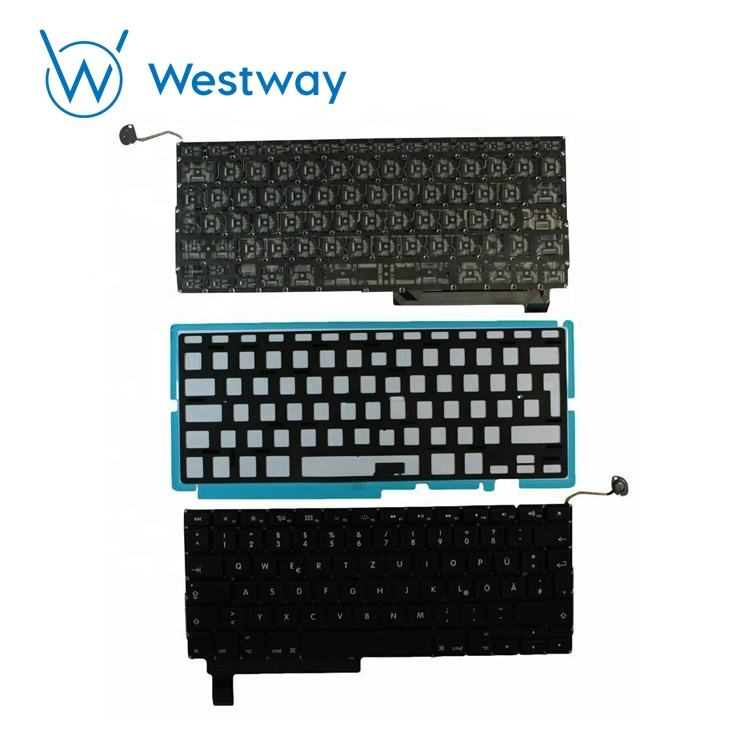 For Apple Macbook A1286 Keyboard UK Layout Keyboard MB470 MB471 Year 2008