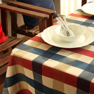 Polyester Printed Scroll Tablecloth for Thanksgiving or Fall or Christmas, Seats 4 to 6 People, Harvest Scroll, 52 x 70