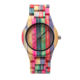 unisex design your own quartz wooden bamboo watch wholesale