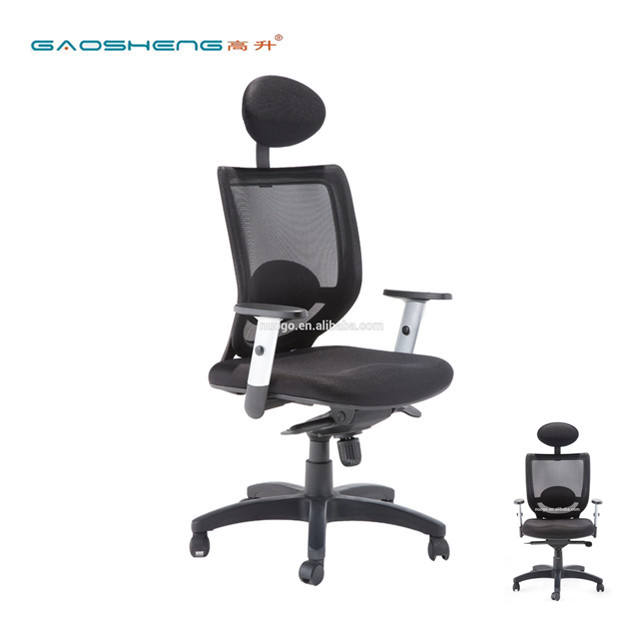 Factory supply office chair mesh fabric for executive boss with armrest