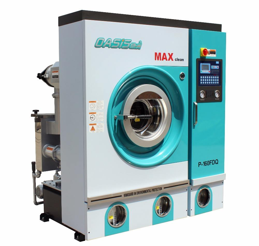 8kg Full automatic Environmentally Friendly Perc. Dry cleaning machine for laundry and Commercial