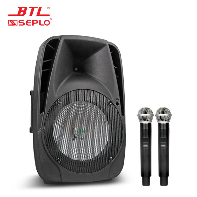 BTL Professional Rechargeable portable blue tooth wireless trolly speaker PA-8012