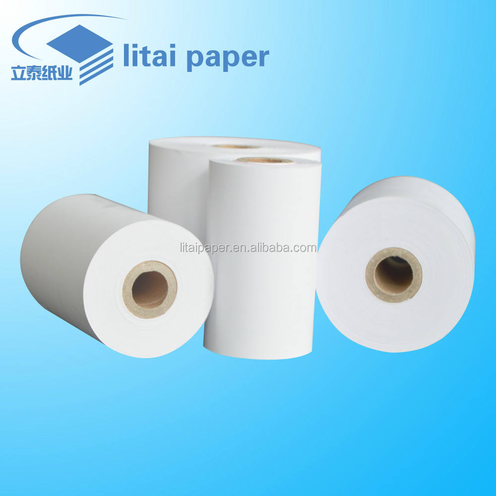100% Wood Pulp [ Cash Register Paper Roll ] Cash Register Paper Litai High Quality 3 1/8 Cash Register Paper 3 1/8 Thermal Paper Roll For Pos Machine ATM