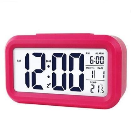Multi Function LCD Table Clock, Snooze Function Digital Alarm Clock Wholesale