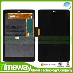 Timeway chine. manufacture. avec écran tactile lcd de remplacement pour asus google nexus 7 digitizer complet