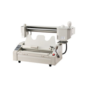 SG-TB02 hard cover automatic binder glue binding machine