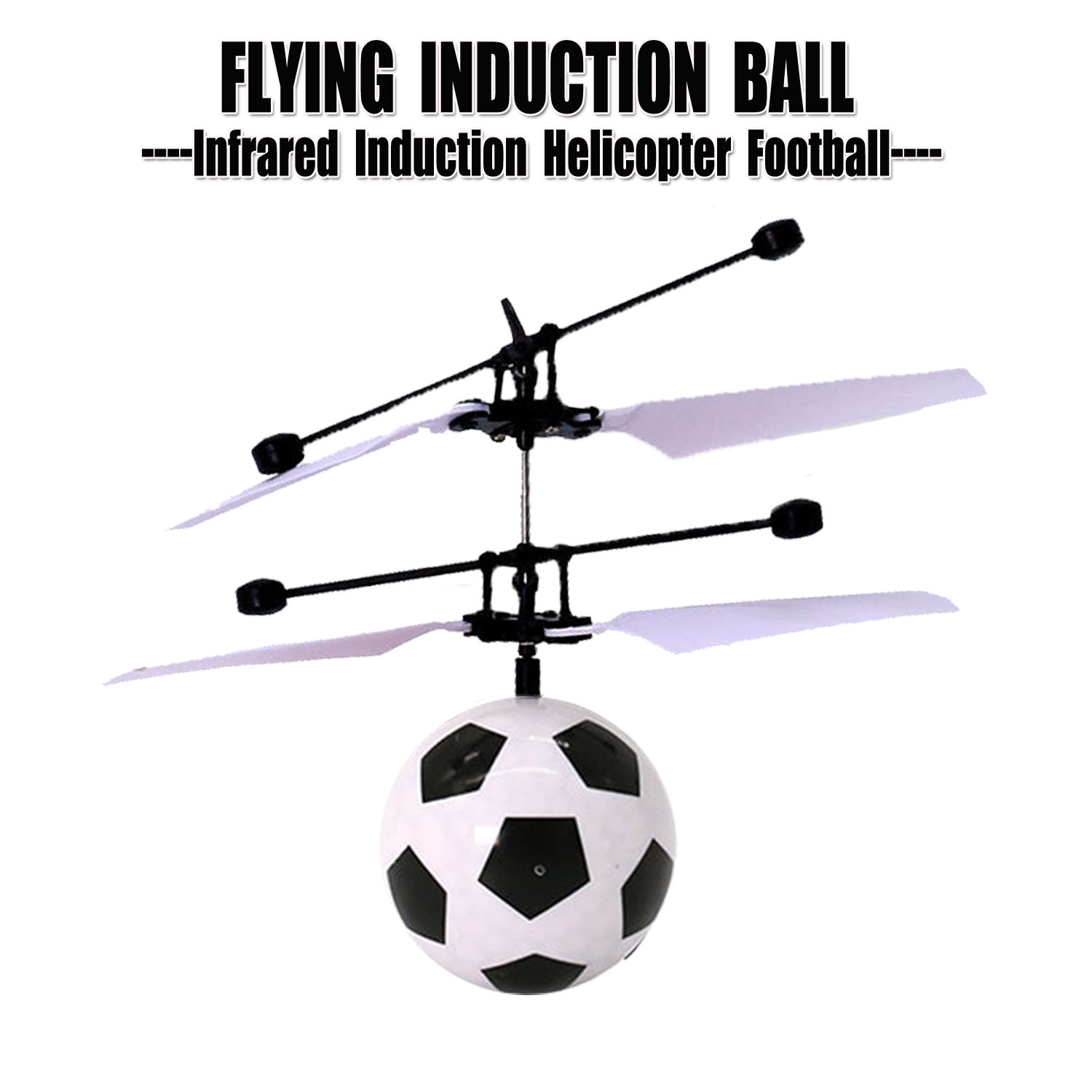 Magic Infrared Induction Soccer Rc Flying Ball With LED Lighting Gesture Sensor Mini Ufo Helicopter Football Drone Kid Toys