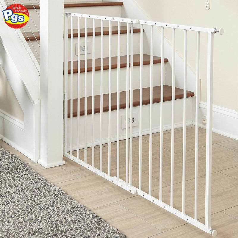 Steel Baby Safety Gate For Door and Stairs