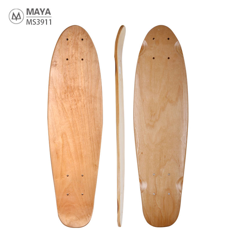 Blank 22 inch skateboard decks houten 7Ply Russische maple cruiser custom vis board deck