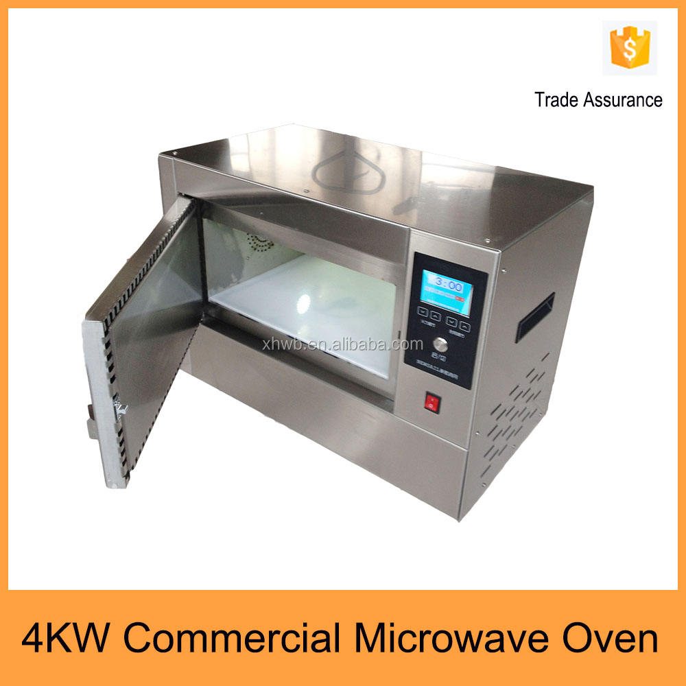Top quality 4kw in acciaio inox forno a microonde