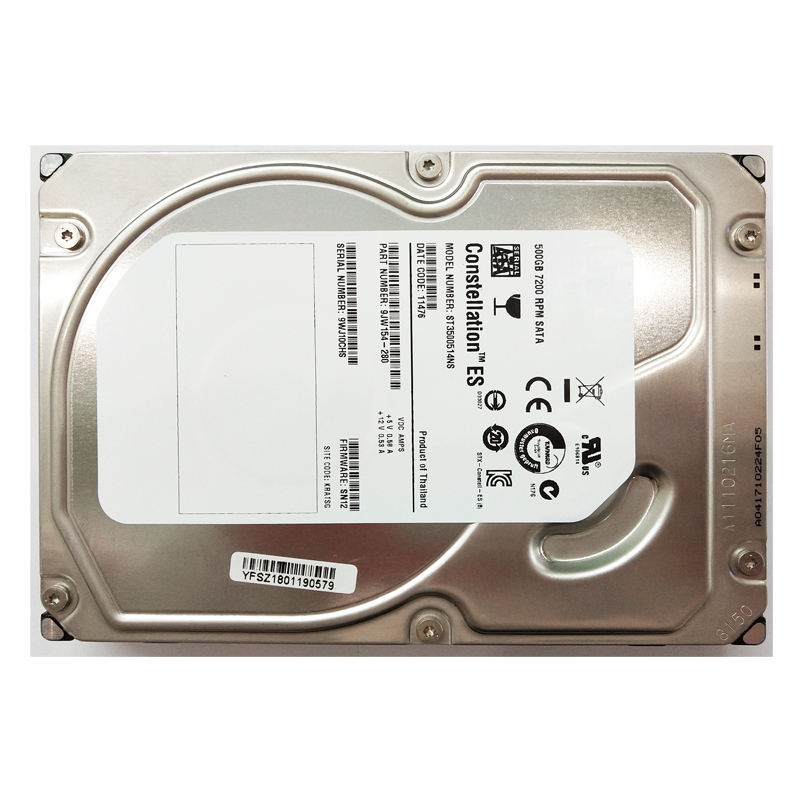 ST3500514NS Seagate Constellation Ialah 500GB 7200 Rpm SATA 3Gbps 32MB Cache 3.5-Inch Hard Drive Internal