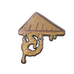 custom beast enamel cartoon bulk lapel pin manufacturer