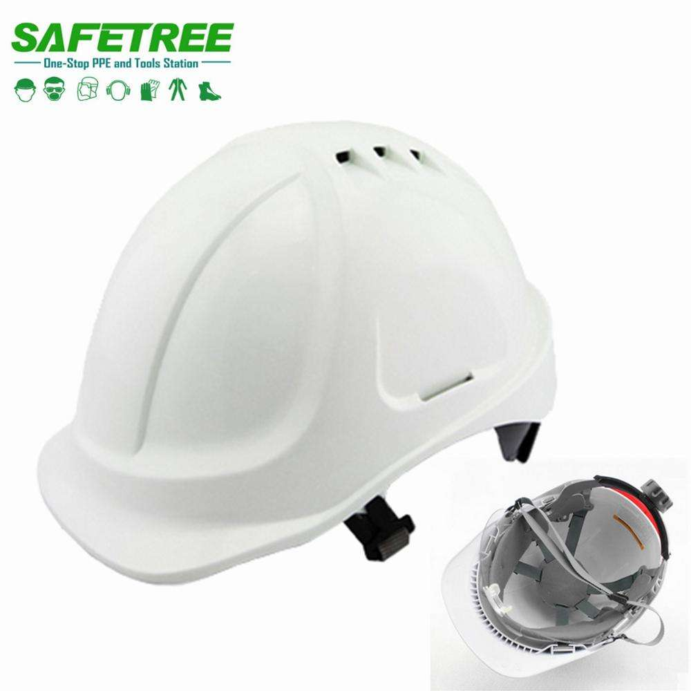 ABS safety helmet hard hat CE EN397 TYPE I CLASS E ready to ship