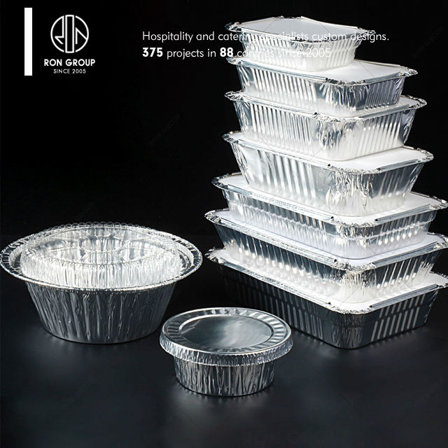 High Quality Disposable Aluminum Foil Container