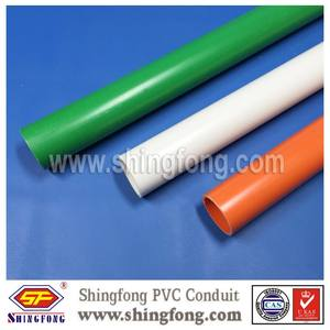 16mm pvc electrical conduit pipe