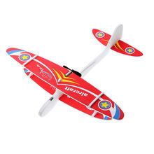DIY Biplane Glider EPP Foam Hand Throwing Aircraft Powered Flying Plane Rechargeable Electric Model Toys For Children