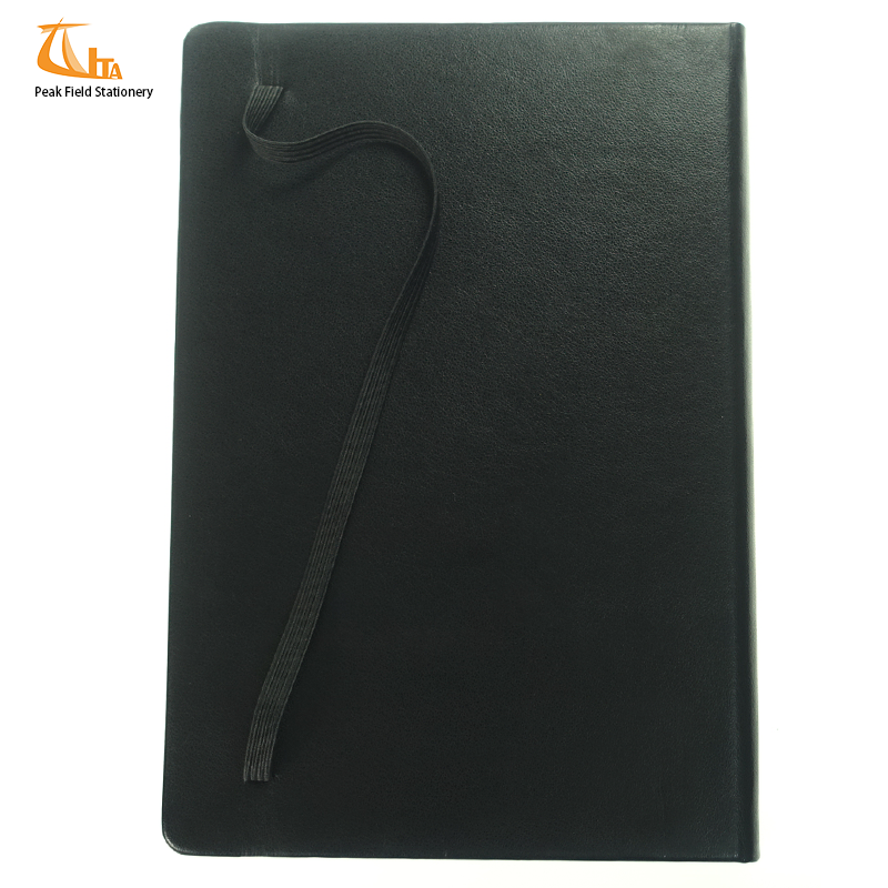 Chinese factory promotion pu notebook