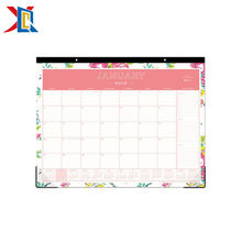 Custom Tear Off Paper Printing Daily Monthly Planner 2019 Desk Pad Wall Calendar