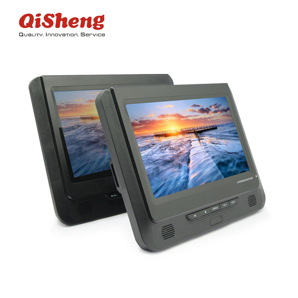 Home video DVD/VCD Player 9 inch dual panel portable DVD with usb