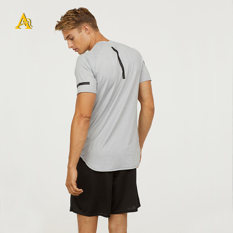 Wholesale High Quality Mens Tops Running Sport Gym Vest Wear Sleeveless Shirt Made of Bamboo Spandex