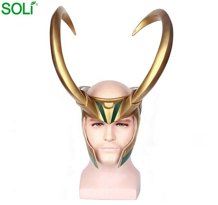 Thor 3 Ragnarok Hoed Halloween Party Cosplay Plastic Loki Helm
