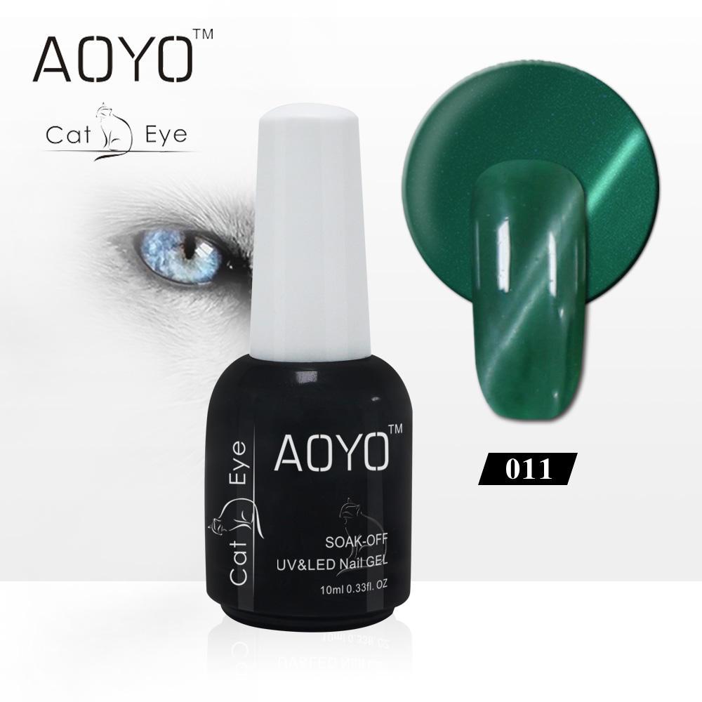 Caixuan AOYO uv cat eye gel nail polish, nueva colección del gel polaco ojos de gato para <span class=keywords><strong>diseño</strong></span> de uñas