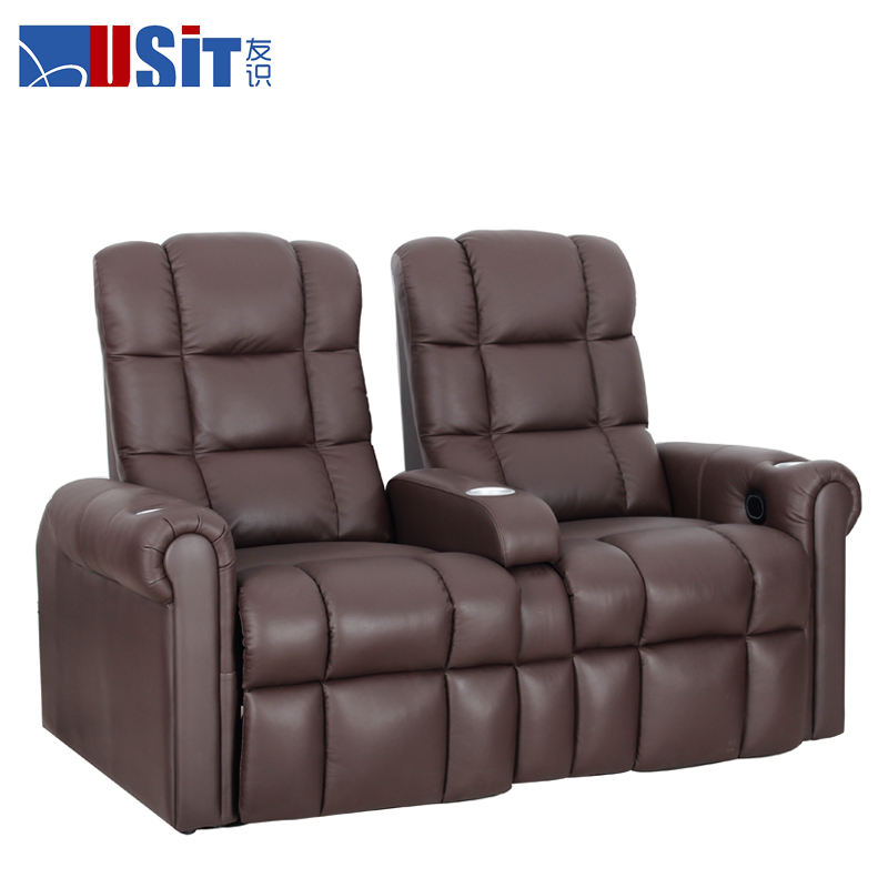 USIT UV822A power sofá reclinable doble loverseat, silla reclinable, sofá silla