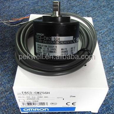 New Omron E6C3-CWZ5GH 100P//R 1M Incremental Rotary Encoder in Box