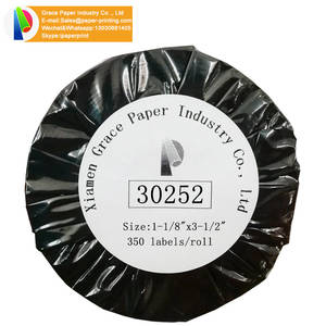Dymo Compatible 30252 label direct thermal print sticker label paper sticker printing