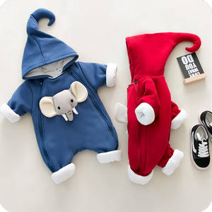 wholesale price newborn baby boy girl clothes hooded romper