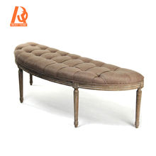 Hot Products Wholesale modern carved wood patio benches