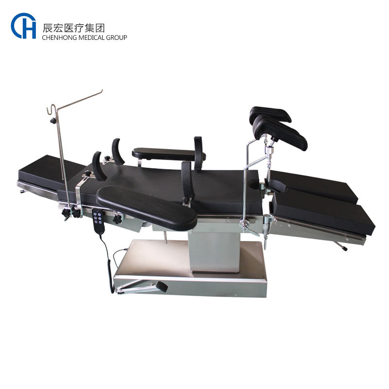 Electric medical surgical operating room table and exam table for surgery
