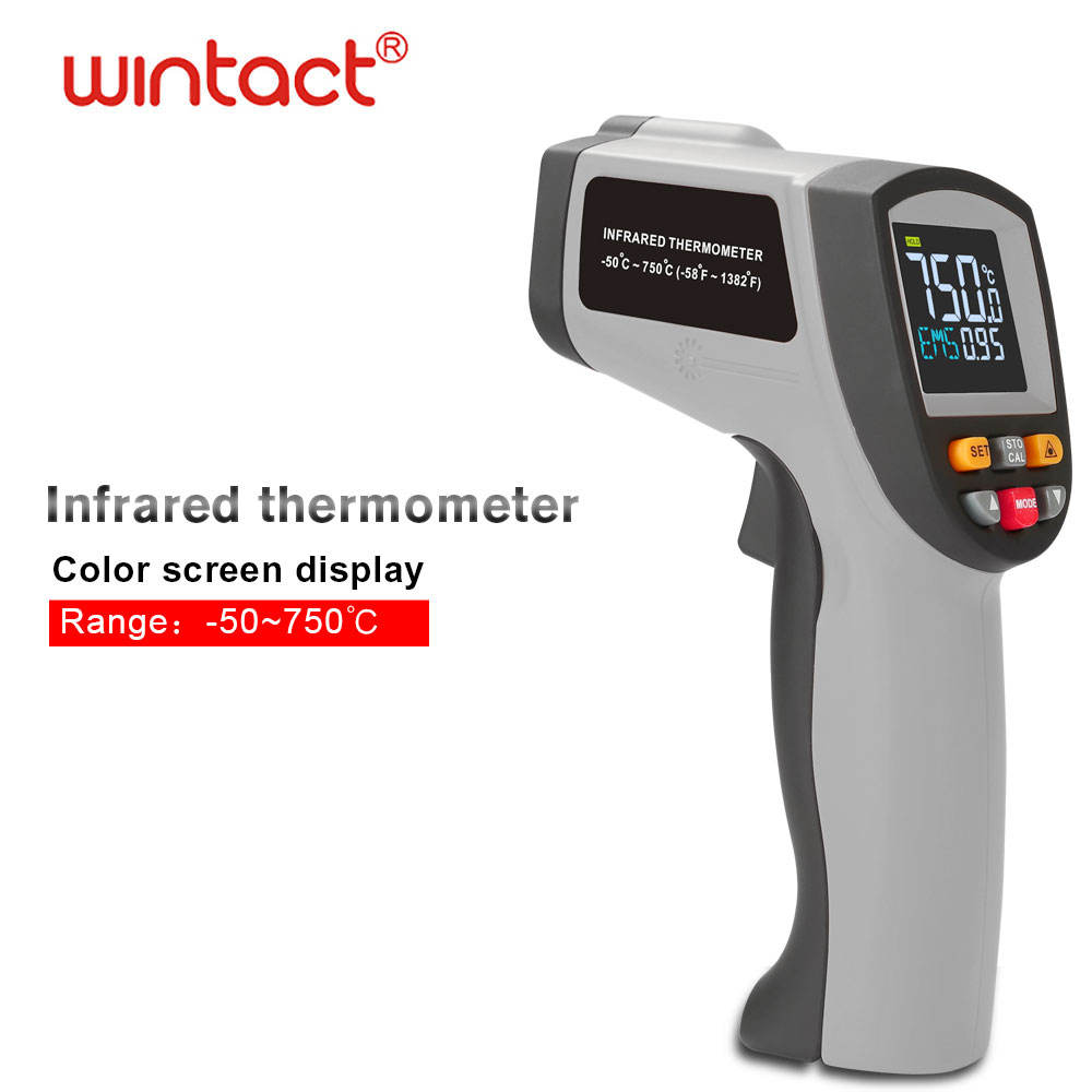 GT750 infrared thermometer for industrial high temperature flow meter