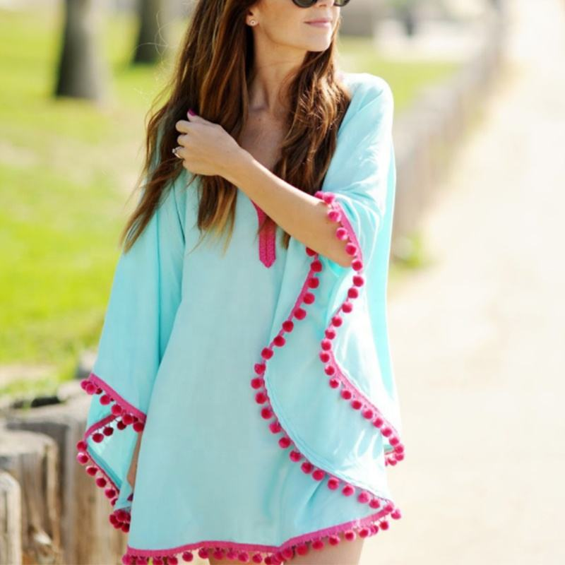 Wholesale Fashion Custom Beach Cover up Dress for Women