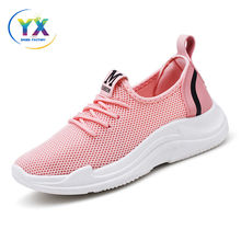 New fashion running women mesh sport shoes durable athletic shoe