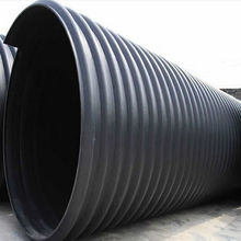 SN16 hdpe steel belt reinforced corrugated pipe for sewer