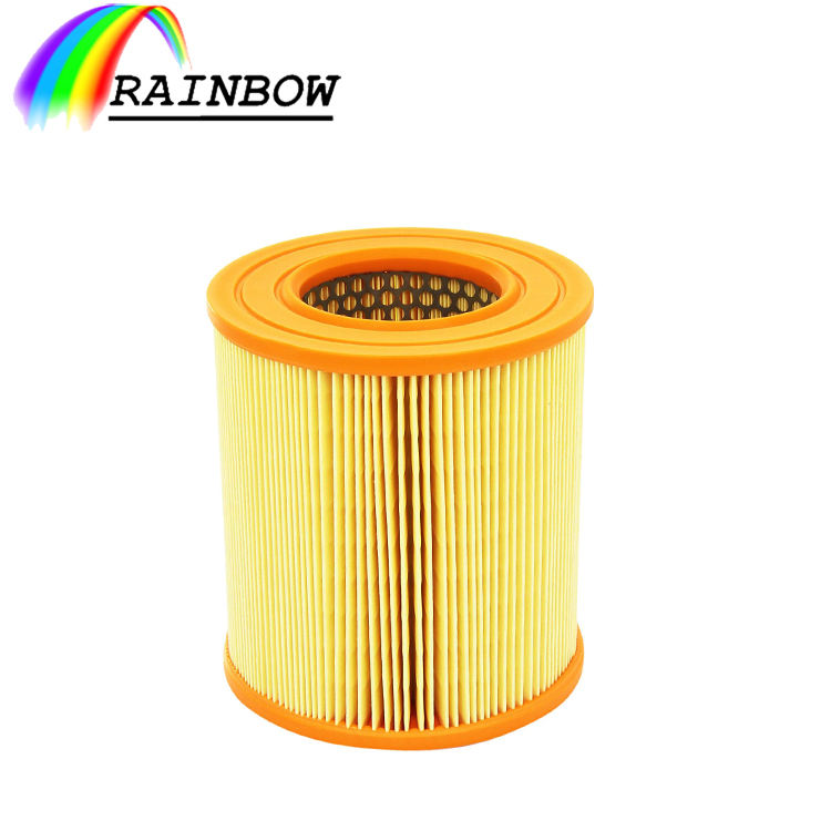 paper pleated metal round type hepa LX1253 engine air filter cleaner assembly FOR MAHLE