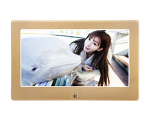Hot Sale 7 8 10 inch Metal wholesale Cheap Slim Lcd Electronic Digital Photo Picture Video Frame With Picture Video Playback