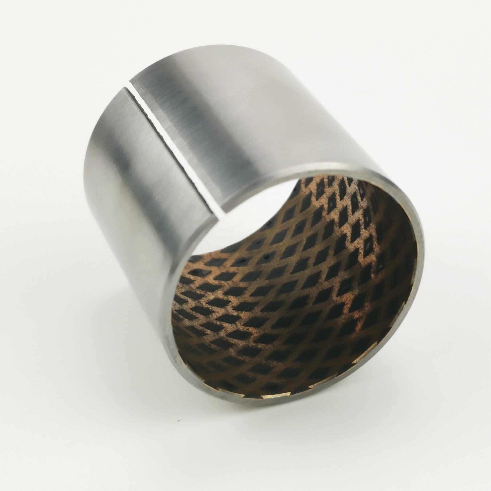 Bimetal strip for bearing