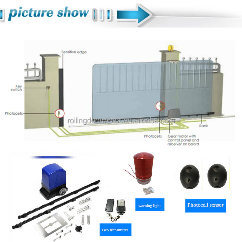Wiring Diagram For Py800Ac (L) Gate Opener from s.alicdn.com