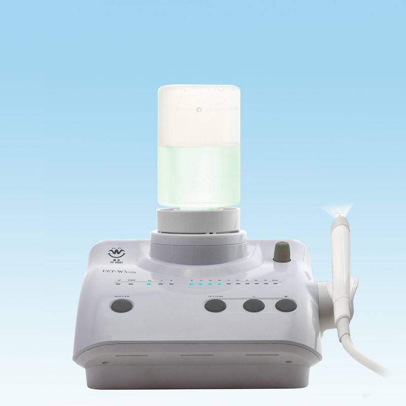 woodpecker Hot selling low price VET-W3-LED auto water supply dental piezo ultrasonic scaler with ultrasonic scaler tip