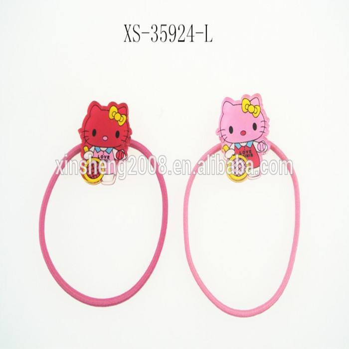 Colorful Hair Band Elastis Rambut Tie Lucu Hairband Dengan Hello Kitty