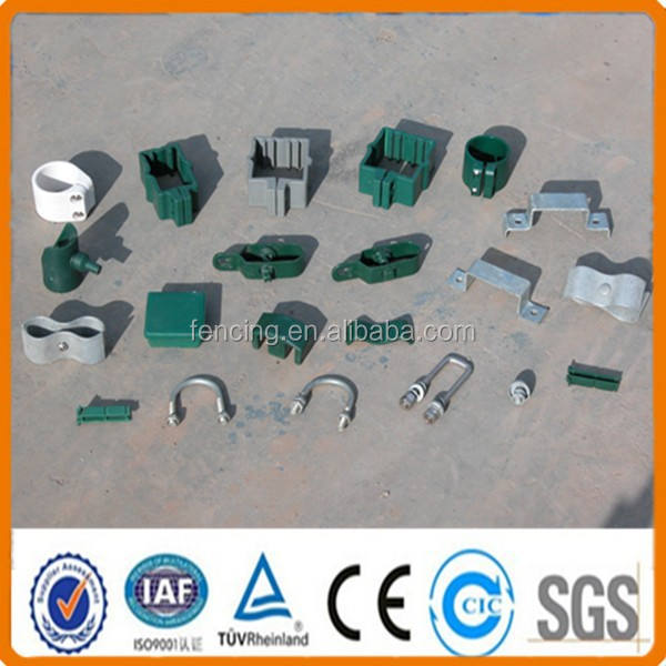 Anping factory wire mesh fence fasteners with fence panel