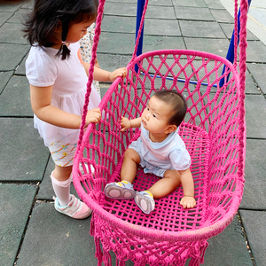 2019 High Quality Indoor and outdoor hanging swing chair baby hammock
