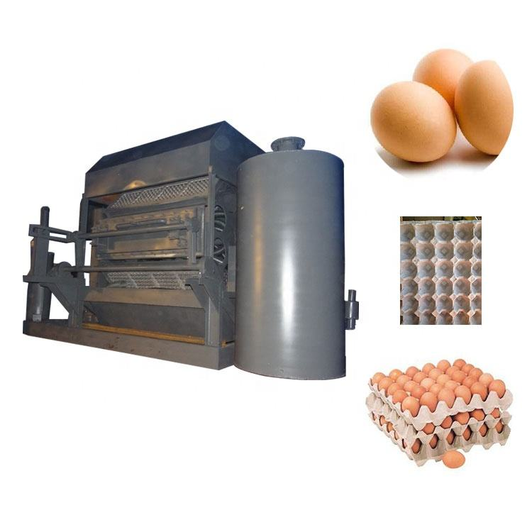 Pulp moulding egg Reciprocating egg trays machine egg tray production line price