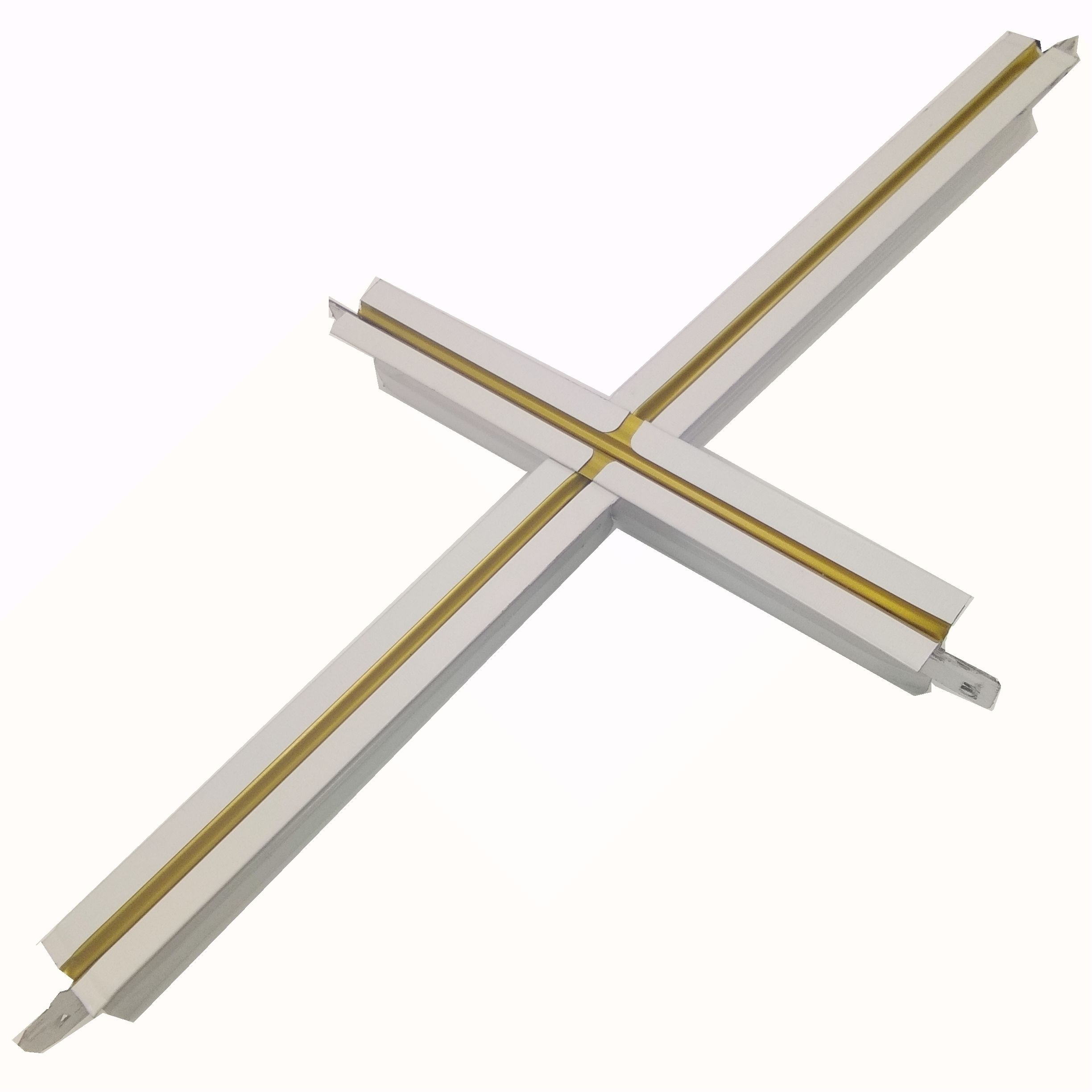 T Grid Suspended Ceiling Grid FUT Ceiling Framing T Bar Galvanized T Bar cross tee main tee
